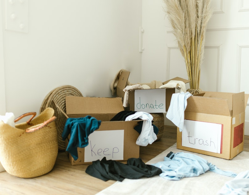 UNPACKING AND ORGANISING YOUR NEW HOME